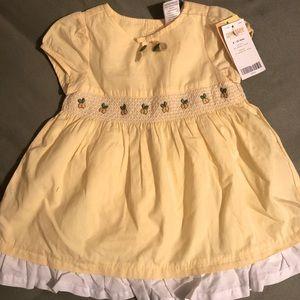 NWT Baby Lemon Dress